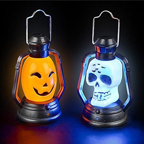 Halloween Trick or Treat Party Supplies Party Favors Mini Flashing Lanterns - 12 pack -