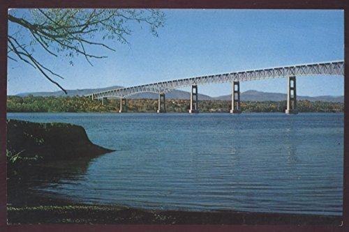 NEW YORK Kingston Rhinecliff Bridge Catskills Postcard
