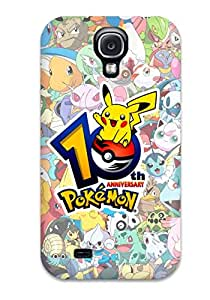 First-class Case Cover For Galaxy S4 Dual Protection Cover Pokemon