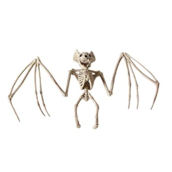 Amosfun Halloween Animal Scary Skeleton Props Happy Halloween Spooky ...