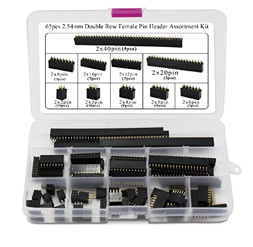 2 54mm Female Assortment Arduino Stackable