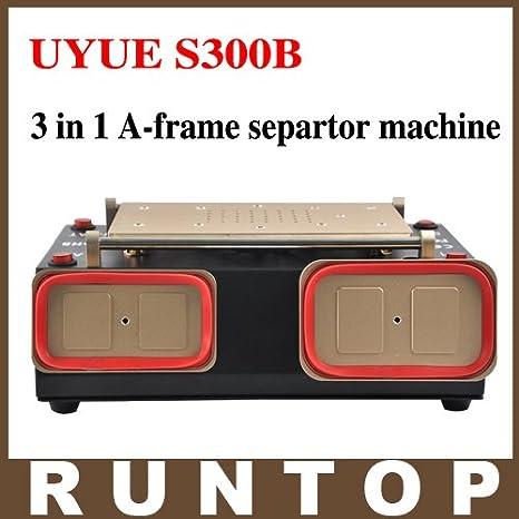 S300B 3 en 1 a-frame Separtor máquina medio bisel marco ...