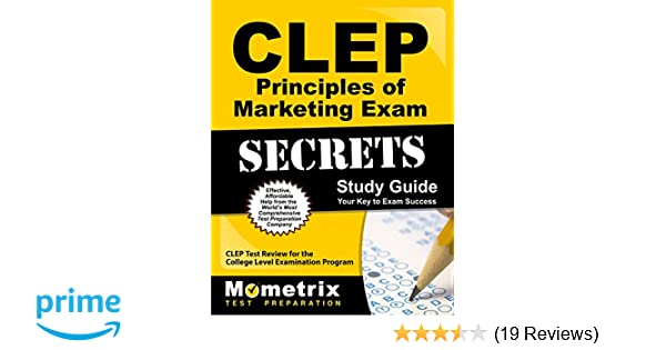 CLEP Principles of Marketing Exam Secrets Study Guide: CLEP