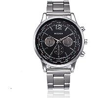 Fashion Man Crystal Stainless Steel Analog Quartz Wrist Watch,Outsta Fashion Watches