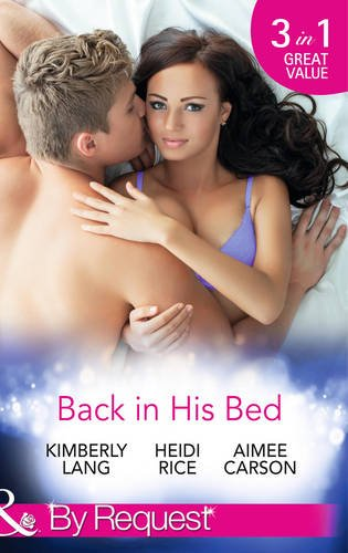 book cover of Back in His Bed