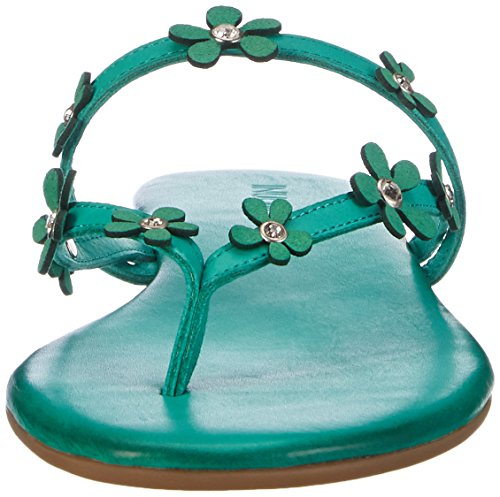 Inuovo 5119, Chanclas Mujer Azul (ROYAL AzulE LEATHER)