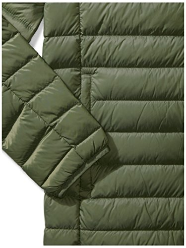 Amazon Essentials Men's Lightweight Water-Resistant Packable Down Jacket, Olive Depths, X-Large