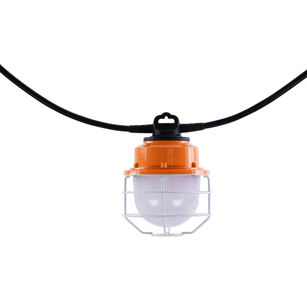 Sonmer 100W 5LED Temporary Construction Hanging Work String Lamp, Fixture 5700K Daylight 10400Lm by Sonmer (Image #5)