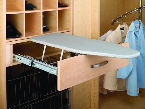 Rev-A-Shelf Pullout Ironing Board Closet Ironging, Gray by Rev-A-Shelf