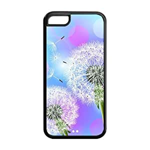 Custom Dandelion Design Hard Case for Iphone 5C case