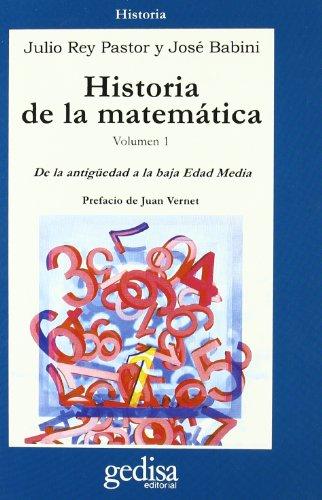 Descargar Libro Historia De La Matemática - Vol. 1 J Rey Pastor