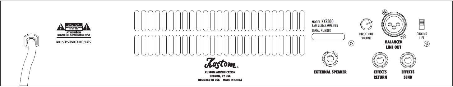 Picture Gifts Kustom kxb100 amplificador combo para bajo (100 W: Amazon.es: Instrumentos musicales