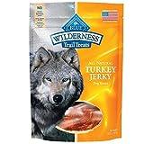 Blue Buffalo Wilderness Grain-Free Turkey Dog Jerky Treats, 3.25 oz (2 PACK)