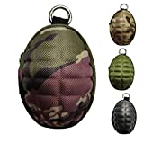 CyberDyer Creative Grenade Pouch Portable Coin Purse Key Cases Bluetooth Earphone Earbuds Zipper Holder