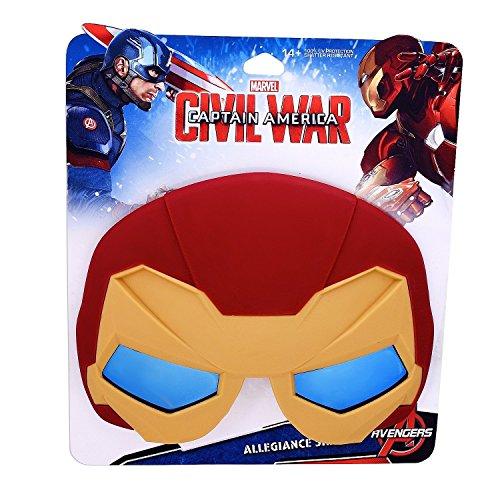 Sunstaches Team Stark Iron Man