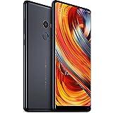 "Xiaomi Redmi Mi Mix 2 64GB 6GB RAM 6"" Dual Sim IMX386 Camera GSM LTE Unlocked Smartphone - Global Model (No Warranty) (Black)"