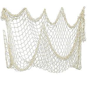 51FZqVPND9L._SS300_ Nautical Fish Net Decor