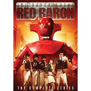 The Super Robot Red Baron - The Complete Series movie