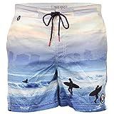 Men's Tokyo Laundry Shorts 1S7513 Blue UK Large/US Medium