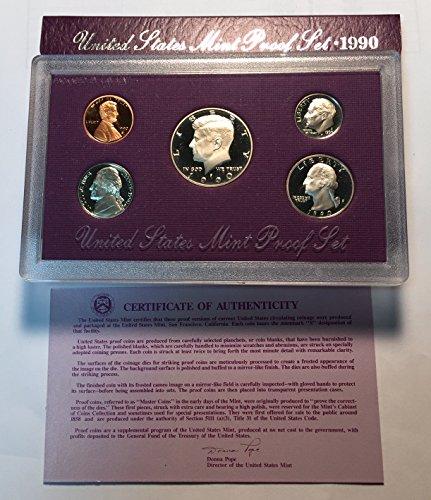 - 1990 S United States Mint Proof Set Proof