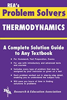 physical chemistry problem solver problem solvers solution guides the thermodynamics problem solver
