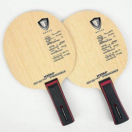 Xiom StradivariusブレードShakehand ( St / FL)Table Tennis Paddles Ping Pong Racket   B0767HRJPS