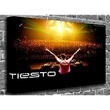 "Dj Tiesto Dance Music Canvas Art Canvas Print Print Print Picture Size: (60"" x 40"")"