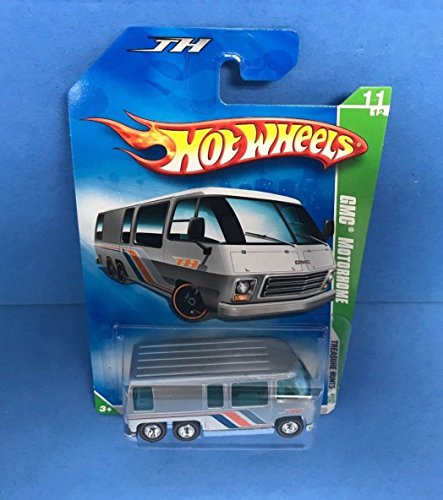 GMC MOTORHOME 2009 Hot Wheels SUPER TREASURE HUNT 11/12 with Rubber Tires Gmc Motorhome