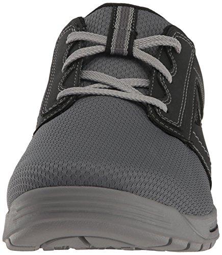 Rockport - Herren Randle Plain Toe Schuhe Nero / Grigio
