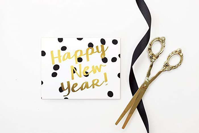 Amazon.com: New Years Card 2017 Happy New Years Cards Personalized ...