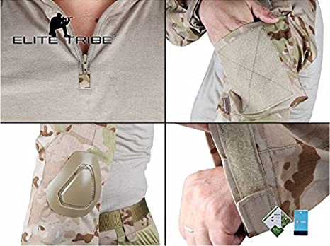 Elite Tribe Airsoft Caza táctico Militar para BDU Combate G2 ...