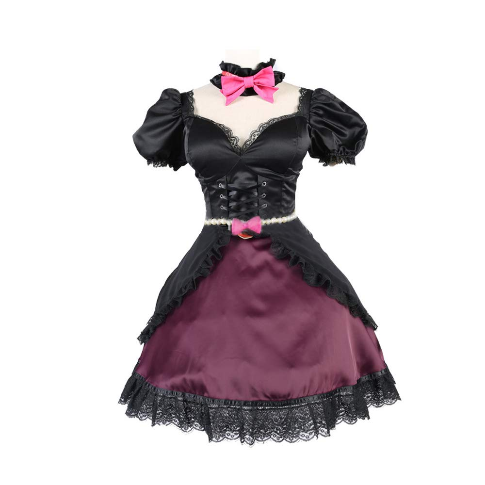 RenXinU Overwatch DVA D.VA Song Hana Cosplay Costume Black Cat ...