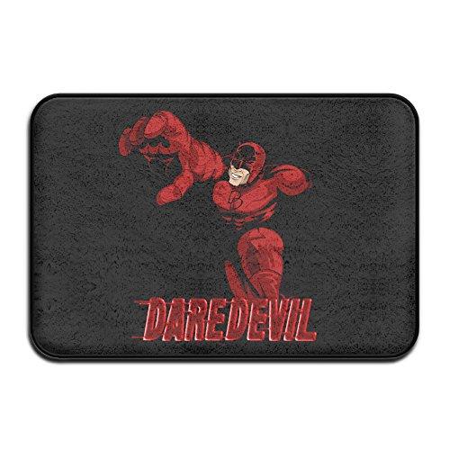 Daredevil Doormat And Dog Mat ,40cm 60cm Non-slip Doormats,Suitable For Indoor Outdoor Bathroom Kitchen Doormat And Pets