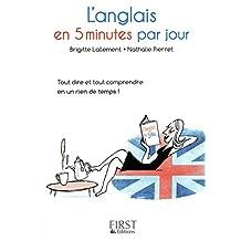 Petit livre de - L'anglais en 5 minutes par jour (Le petit livre de) (French Edition)