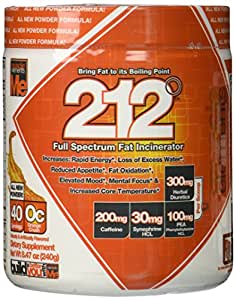 Muscle Elements 212 Powder, Orange Crush, 8.47 Ounce