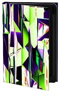 Keka SLP35-SW7-IPH4 - Funda tipo libro para iPhone 4/4s, diseño espejos de color de Susannah Weiland