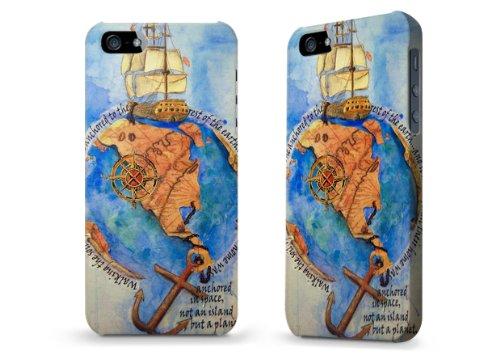 """Hülle / Case / Cover für iPhone 5 und 5s - """"When the world was round"""" von Kaitlyn Parker"""