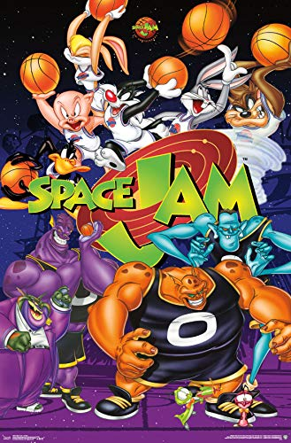 Trends International Space Jam-Collage Clip Bundle Wall Poster 22.375