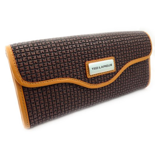 Pouch bag 'Ted Lapidus' marrone.