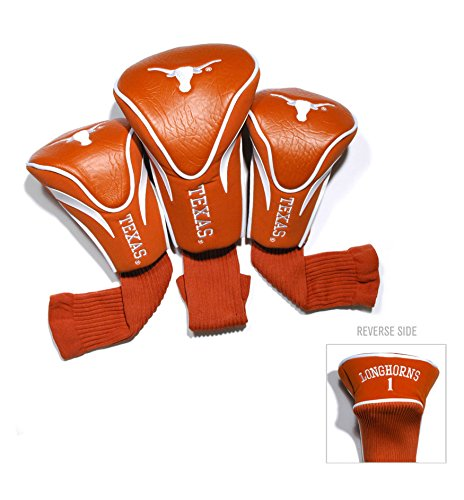 Headcovers Pack Golf 3 (University of Texas Contour Sock Headcovers (3 pack))