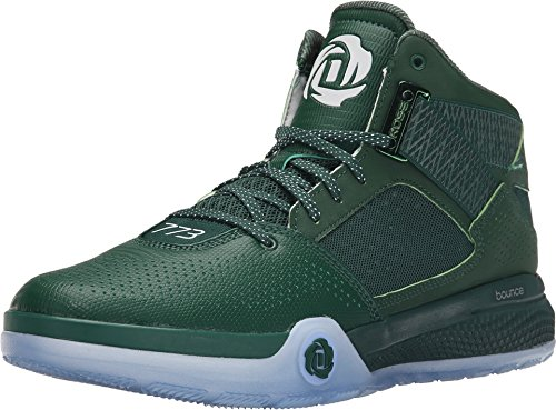 competitive price f4b5e 1bc53 Adidas Performance Mens D Rose 773 Iv Scarpa Da Basket Verde Scuro  Nucleo  Nero