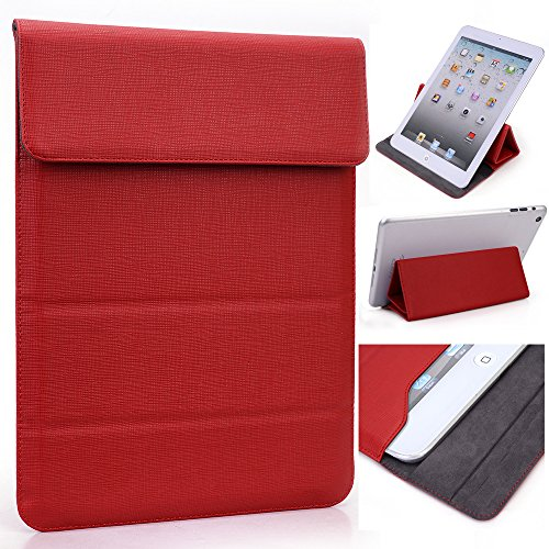 (Fiesta Red Wrapper Travel PU Leather Pouch Samsung Galaxy Tab 4 7.0, Galaxy Tab 4 Nook 7 Tablet, [Limited Edition])