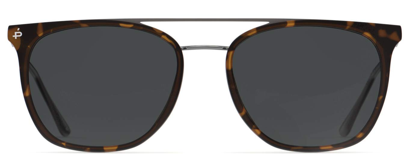 PRIVÉ REVAUX Places We Love Collection''The Aussie'' Square Polarized Handcrafted Designer Sunglasses