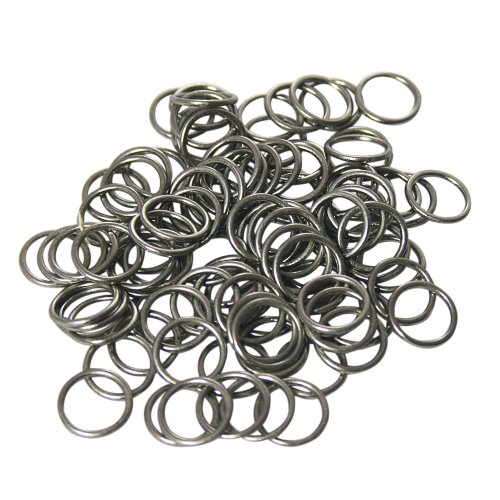 - Home Sewing Depot Nickel Shade Rings, 3/8 Inch Diameter 50 Pk