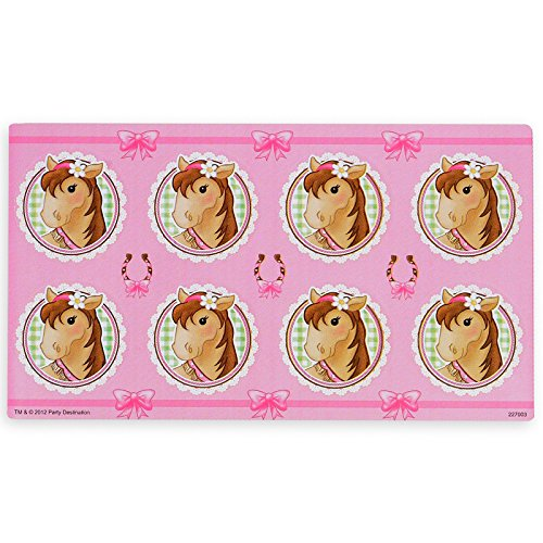 BirthdayExpress Pink Cowgirl Party Supplies - Small