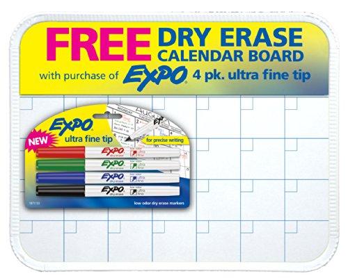 Low Odor Calendar Ultra Fine 5 Piece Assorted