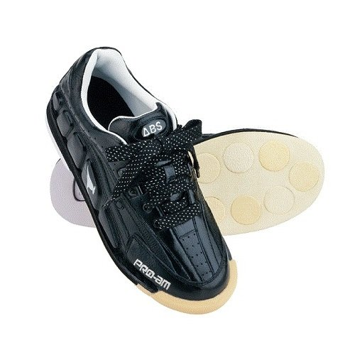 (ABS) ボウリングシューズ NV-3 ブラックブラック 【ボウリング用品 靴】 B00CW6A4DI 26 左