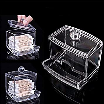 "Clear Acrylic 5 Compartment Bin 20/"" x 3/""  Storage Bin Keepsake Holder"