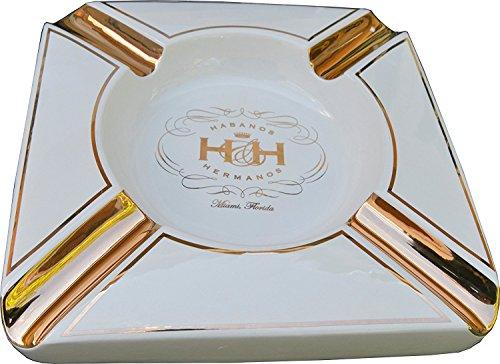 H&H Insignia Collection - The White Diamond - Cigar Ashtray ()