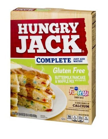 Hungry Jack Pillsbury Funfetti Buttermilk Pancake And Waffle Mix With Candy Bites, 20.0 OZ